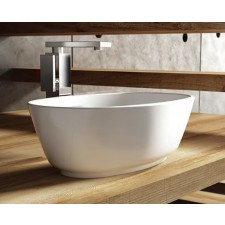 Mineralguss Aufsatz-Waschbecken Organic Téchni