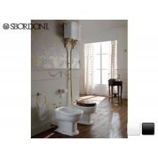 Keramik WC-Becken Palladio mit hochhängendem Spülkasten Antik Traditionell Retro