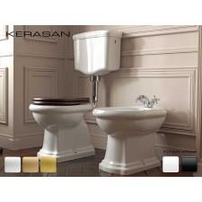 Keramik WC-Becken Retrò mit hängendem Spülkasten