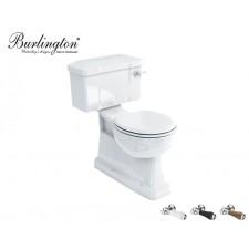 Keramik WC-Becken Classic mit aufgesetztem Spülkasten Bodenablauf Nostalgie Retro Traditionell Antik
