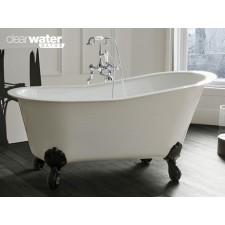 Freistehende Badewanne aus Clearstone Romano Petite