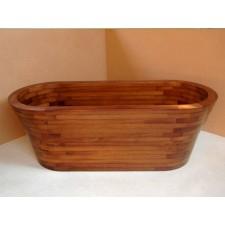 Freistehende Holz Badewanne Rosemarkie