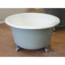 Freistehende Gusseisen Badewanne Mini Round