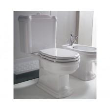Nostalgie Keramik WC-Becken Royal mit aufgesetztem Spülkasten