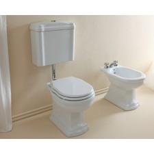 Nostalgie Keramik WC-Becken Royal mit hängendem Spülkasten