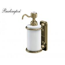Retro Seifenspender Burlington zur Wandmontage Gold