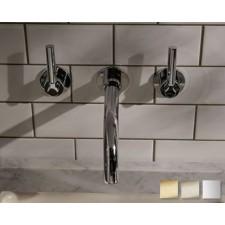Design Waschtischarmatur Senska zur Wandmontage