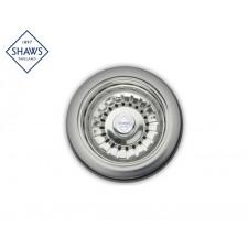 """Shaws Siebablauf 1½"""" für Küchenspüle Chrom"""