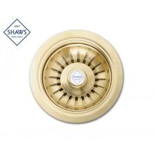 """Shaws Siebablauf 3½"""" für Küchenspüle Bronze"""