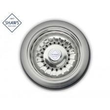 """Shaws Siebablauf 3½"""" für Küchenspüle Chrom"""