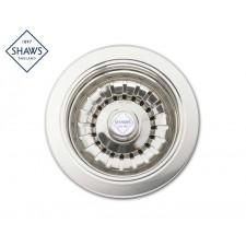 """Shaws Siebablauf 3½"""" für Küchenspüle Nickel Satin"""