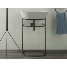 Keramik Waschbecken mit Gestell Wave WASA02