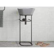 Keramik Waschbecken mit Gestell Wave WASA03