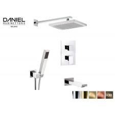 Design 3-Wege Unterputz Duscharmatur Daniel D