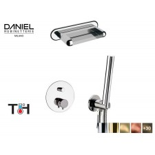 Design Thermostat 2-Wege Unterputz Wasserfall Duscharmatur Daniel D