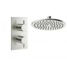 Design Unterputz Duscharmatur MPRO Edelstahl / 1 Weg
