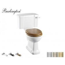 Retro Keramik WC-Becken Classic mit aufgesetztem Spülkasten