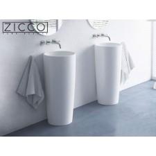 Design Mineralguss Stand-Waschbecken Bella S