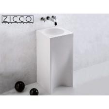 Design Mineralguss Stand-Waschbecken Cornet S