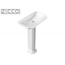 Design Mineralguss Stand-Waschbecken Cristal S