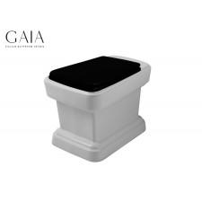 Traditionelles Keramik WC-Becken Bodenstehend