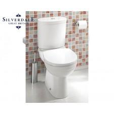 Design WC-Becken Thames mit Aufgesetztem Spülkasten