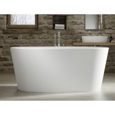 Freistehende Design Badewanne aus Mineralguss Tigris