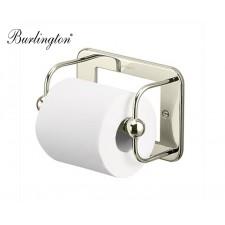 Retro Toilettenrollenhalter Burlington Nickel