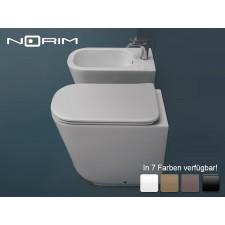Spülrandloses Keramik WC-Becken Tribeca bodenstehend