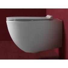Keramik WC-Becken Vibe wandhängend spülrandlos
