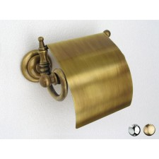 Nostalgie Toilettenrollenhalter mit Klappe Vienna