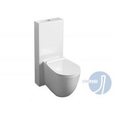 Keramik WC-Becken Spülrandlos mit aufgesetztem Spülkasten Vibe