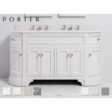 Marmor Waschtisch mit Unterschrank Stratford Double