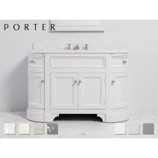 Marmor Waschtisch mit Unterschrank Stratford Mid