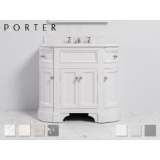 Marmor Waschtisch mit Unterschrank Stratford Single