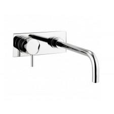 Design Zweiloch Waschtischarmatur zur Wandmontage Kai Lever