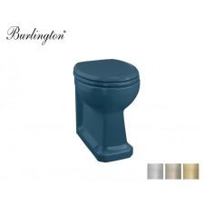 Retro Keramik WC-Becken Classic Alaska Blue