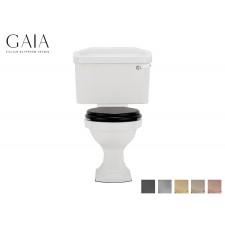 Traditioneller Keramik WC-Becken London mit aufgesetztem Spülkasten