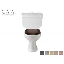 Traditioneller Keramik WC-Becken Roma mit aufgesetztem Spülkasten