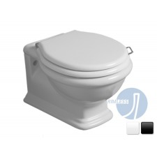 Nostalgie Keramik WC-Becken Spülrandlos Latium wandhängend
