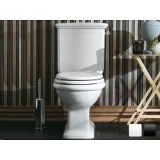 Nostalgie Keramik WC-Becken Latium mit aufgesetztem Spülkasten