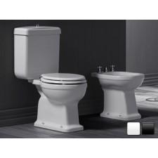 Nostalgie Keramik WC-Becken Legano mit aufgesetztem Spülkasten