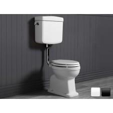 Nostalgie Keramik WC-Becken Legano mit hängendem Spülkasten