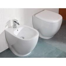 Keramik WC Weg bodenstehend