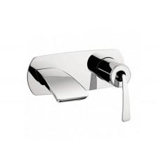 Design Zweiloch Waschtischarmatur zur Wandmontage Essence