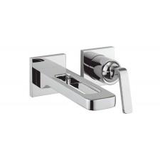 Design Zweiloch Waschtischarmatur zur Wandmontage Zero 1