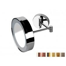 Design Kosmetik-Vergrößerungsspiegel x2 mit LED zur Wandmontage Hotel