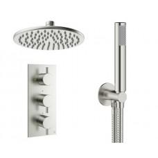 Design Unterputz Duscharmatur / 2 Wege Mike PRO Steel