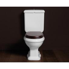 Nostalgie Keramik WC-Becken Astoria mit aufgesetztem Spülkasten
