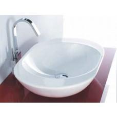 Design Keramik Aufsatz-Waschbecken Ovo Medium